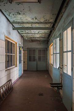 Verlassener Korridor von Dick Carlier