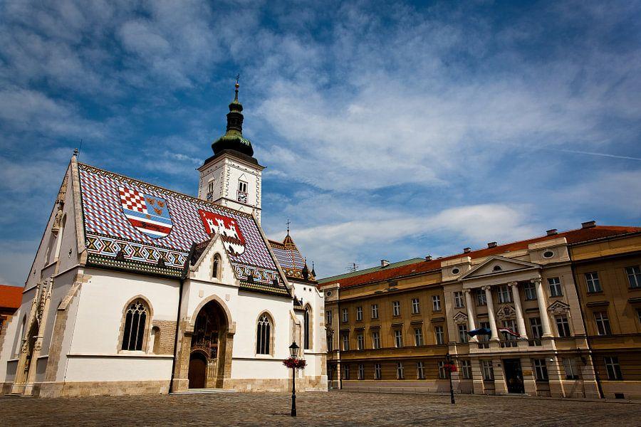 Sint Marcuskerk in Zagreb