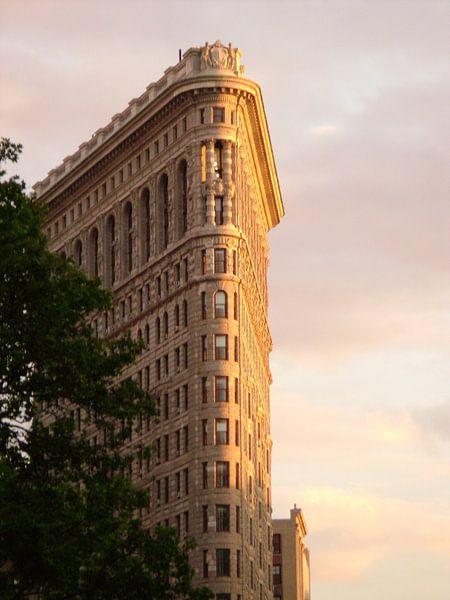 Flatiron Gebouw New York van Hyppy Picture