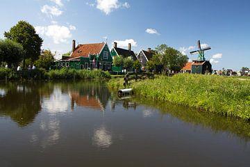 Een typisch oud Hollands landschap van Rijk van de Kaa