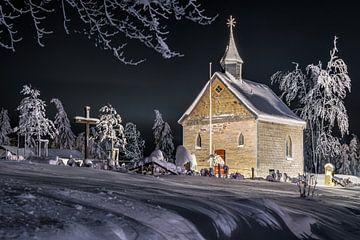 Bergkapel Altastenberg in de winter