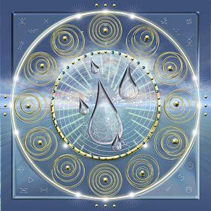 Energiepatroon Pijler van energie, leven, tijd en ruimte van Shirley Hoekstra