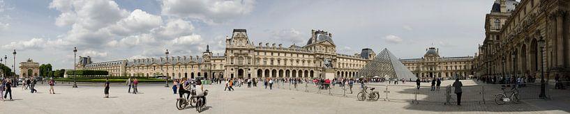 Louvre panorama van Sean Vos