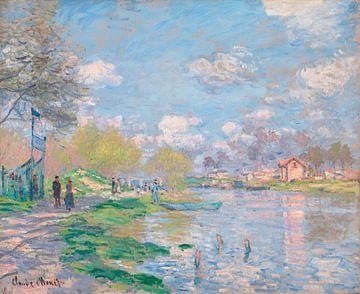 Lente aan de Seine, Claude Monet