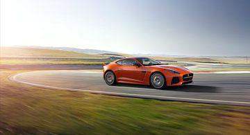 Jaguar F-Type SVR sportscar van Atelier Liesjes