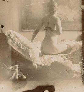 Marie Jordan nackt auf dem Rücken, George Hendrik Breitner