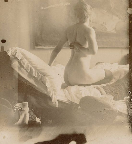 Marie Jordan nackt auf dem Rücken, George Hendrik Breitner von Meesterlijcke Meesters