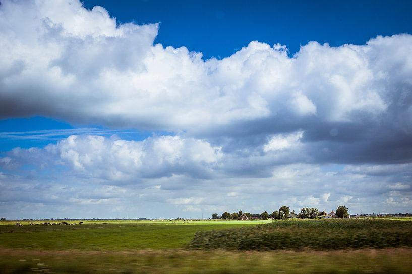 Dutch clouds van Freddy Hoevers