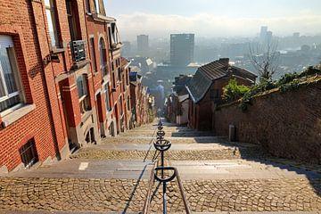 Uitzicht Montagne de Bueren Luik