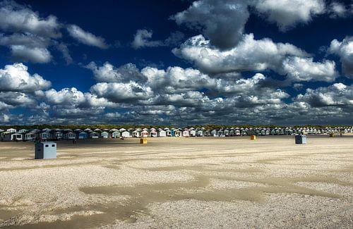 Strandhuisjes ijmuiden van
