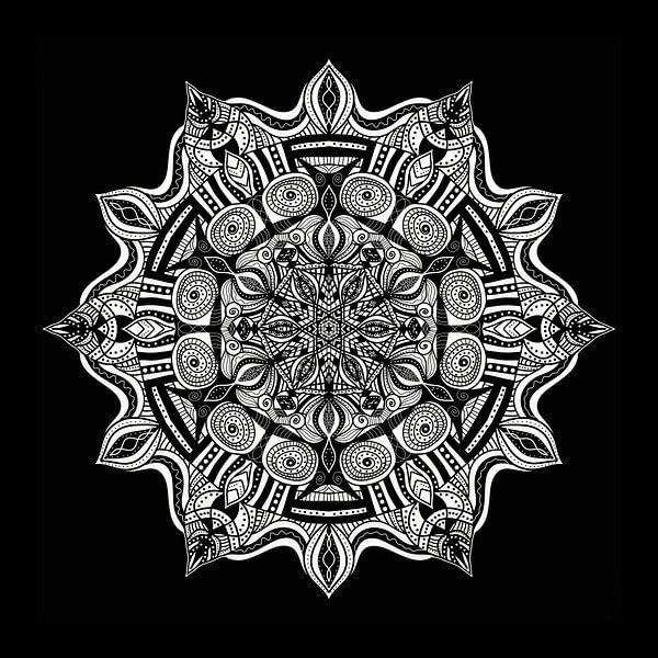 Mandala van Gabi Siebenhühner