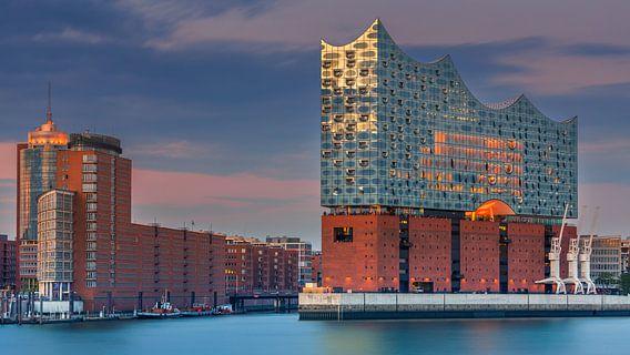 De Elbphilharmonie, Hamburg, Duitsland