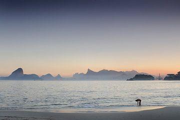 Strand in Niterói von Fotografie door Menno