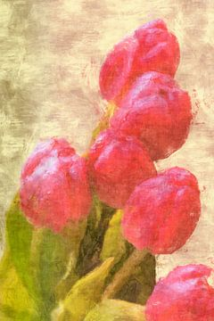 Tulpengrüsse van Dagmar Marina