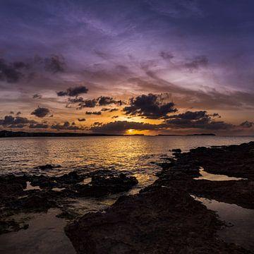 Sonnenuntergang auf Ibiza von Leonard Walpot