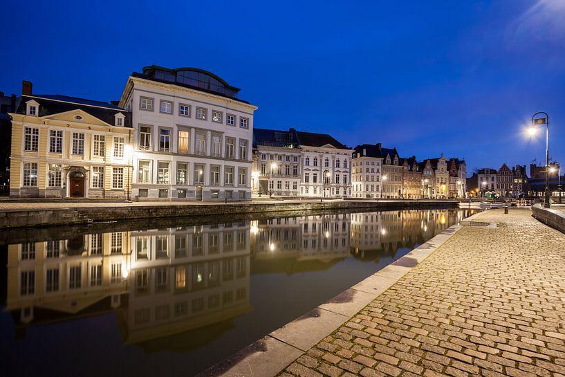 Graslei in Gent von Marcel Derweduwen