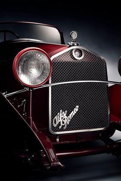 1931 Alfa Romeo 6C 1750 GT Compressore van Thomas Boudewijn
