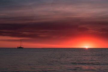 zonsondergang van Patrick  van Dasler