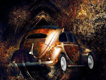 VW Kever kunst van Ramon Enzo Wink