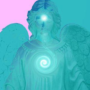 Dein blauer Schutz-Engel van