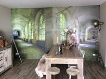 Kundenfoto: Grüner Korridor von Perry Wiertz, auf fototapete