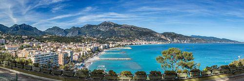 CÔTE D'AZUR Roquebrune | Panoramic van Melanie Viola