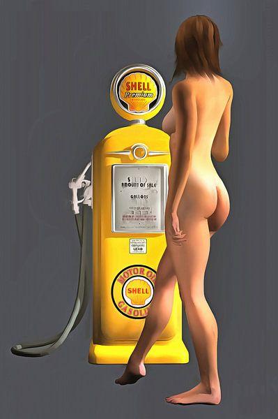 Pop Art – Shell Pomp van Jan Keteleer