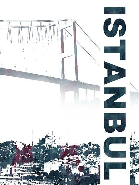 Istanboel van Printed Artings