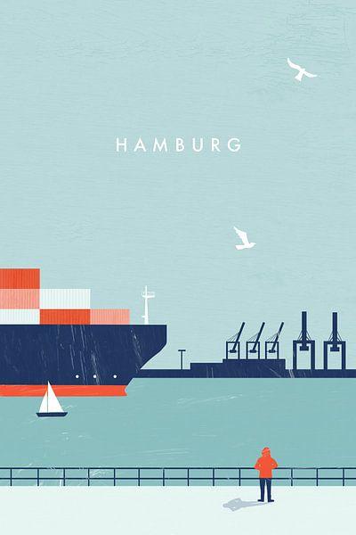 Hamburg van Katinka Reinke