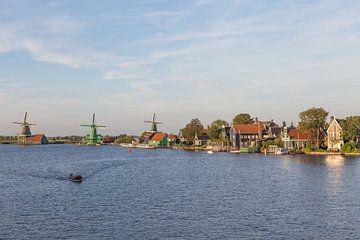 Windmolens Zaandijk Holland van Orhan Sahin