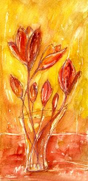 Tulpenglück von Claudia Gründler