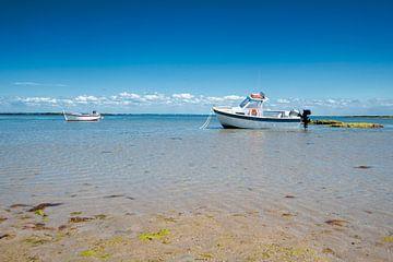 Boot rustend op zand van Youri Mahieu