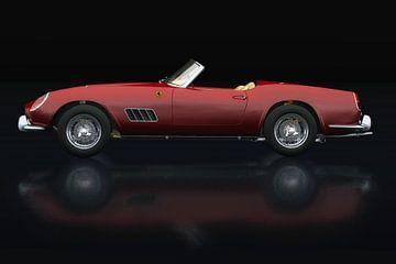 Ferrari 250 GT Spyder California 1960 Zijaanzicht