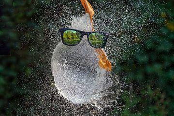 Ballon explosant sur Humphry Jacobs