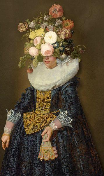 Portrait of a Woman sur Marja van den Hurk