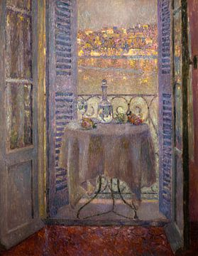 Fenster zur Bucht von Villefranche, Henri Le Sidaner