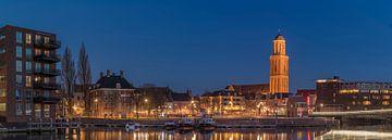 Stadsgezicht Zwolle van Wim Kanis