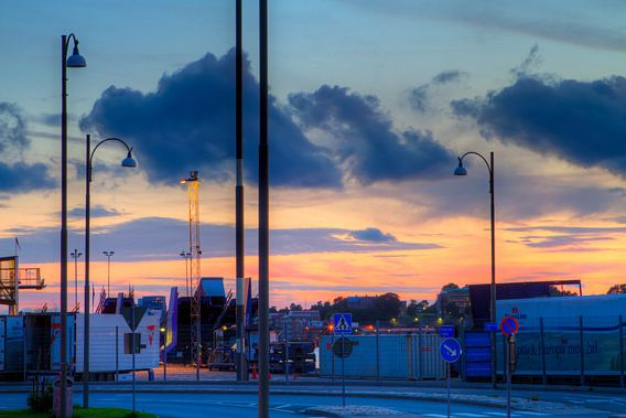 Göteborg Harbour - Night Lights