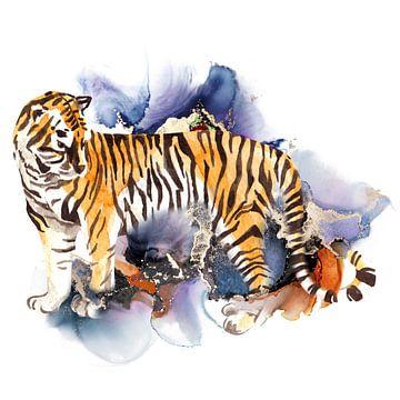 La nuit du tigre sur Karin Schwarzgruber