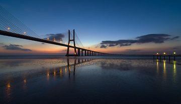 Ponte Vasco da Gama à Lisbonne sur Jos Pannekoek