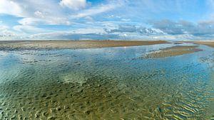Austrocknen des Wattenmeeres