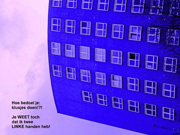 Small Talk: Twee Linke Handen! van MoArt (Maurice Heuts)
