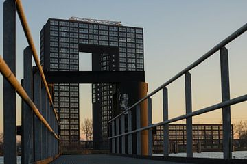 Turm von Groningen von Loes Fotografie