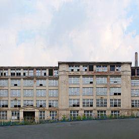 Chemnitz | Wanderer Works sur Panorama Streetline