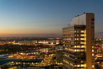 Gerade-Süd bei Sonnenuntergang von Bart van Lier