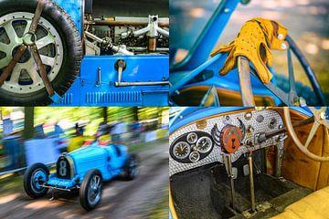 Bugatti Type 43 klassieke sportwagen van Sjoerd van der Wal