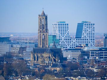 Dom Utrecht en Stadskantoor sur