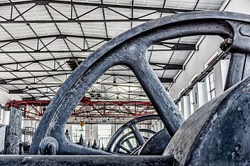 Antriebsräder zur Herstellung von Koks von Okko Huising - okkofoto