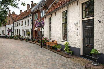Pitoresk straatje in Hattem in de zomer van Elles Rijsdijk