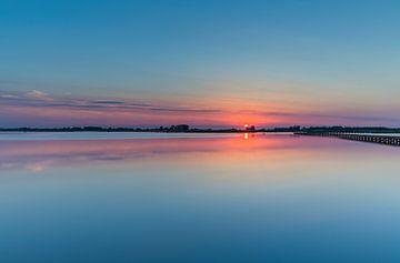 Sonnenuntergang 't Roegwold in Groningen von Marcel Kerdijk